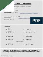 Clase 03.Matrices complejas
