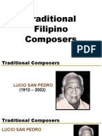 Traditional Composers
