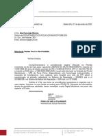 Ofício nº 233-2020 DERE-SESMA (plantão 07.12.2020)