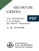 Hunter. AM. El Hecho de Cristo..pdf