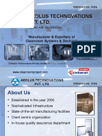 Cleanroom Systems and Devices Laminar Flow Maharashtra India