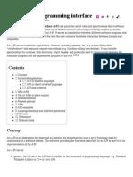 Application Programming Interface - Wikipedia, The Free Encyclopedia