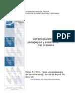 Constructivismo Pedagógico y Enseñanza por Proceso