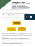 Ltda. x S.A._ Captação de Recursos.pdf