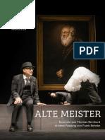 Theater Munster Thomas Bernhard Alte Meister dir. Frank Behnke