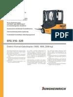 Jungheinrich EFG 316-320 DE