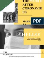 The World After Coronavirus - Maharashtra Today.