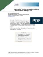 Sobre el papel de los medios de comunicación en los conflictos del siglo XXI.pdf