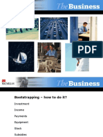 PPT The Business Upp Int Bootstrapping How to do it 6 11 slides.ppt
