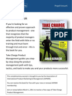 Take Charge Product Management EXCERPT