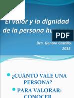 1. El Valor de La Persona Humana