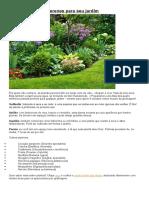 Melhores plantas perenes para seu jardim