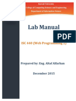 ISC 440 LabManual