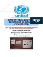 RAPPORT D'AUDIT UNICEF SIEGE  CT200218
