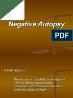 Negative Autopsy