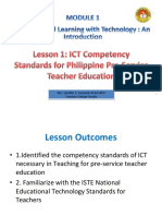 Lesson 1 ICT Standards (1)