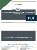 3 Management de la qualité selon lISO9001v2015- sequence 2 (1)V2
