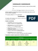 COORDENACAO E SUBORDINACAO extra.doc