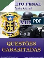 VUNESP Direito Penal Parte Geral Questões Gabaritadas (1)