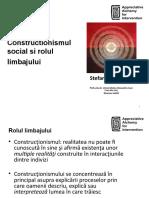 Stefan Cojocaru - Constructionismul social