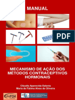 MECANISMO DE ACÇÃO DOS MÉTODOS CONTRACEPTIVOS