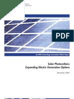 EPRI Photovoltaic_White_Paper_1207
