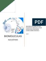 BIOMOLECULAS NUCLEOTIDOS