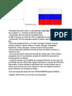 FEDERATIA RUSA