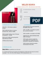 CV CONSULTANT MEJDI BDIRA 2020