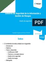 U01 CISSP Gobierno de Seguridad de la Información y Gestión de Riesgos