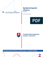 Epidemiologická situácia na Slovensku