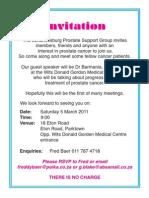 Prostate Invite