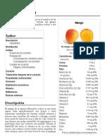 Mango (fruta) - Wikipedia, la enciclopedia libre
