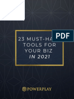 Must-Have Tools For Your Biz in 2021
