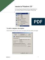 Joining Domain in Server 2003 server 2