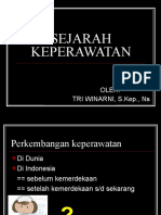 SEJARAH KEPERAWATAN