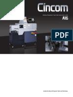 Citizen A16VI Machine Specifications
