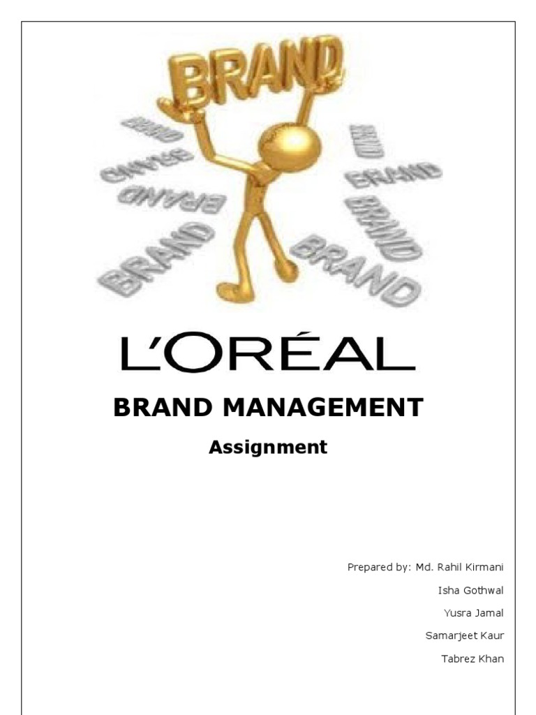 l'oreal global brand local knowledge