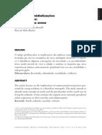 BOREELI Silvia; MELLO Rose - JUVENTUDES, MIDIATIZAÇÕES E NOMADISMOS A CIDADE COMO ARENA.pdf