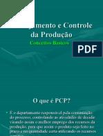 02 - Planejamento e Controle da Produção (PCP) - Conceitos Básicos.ppt