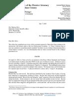 District Attorney's Marc Nuno decision