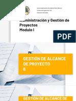 6. GESTION DE ALCANCE- 11DIC20