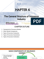 CHAPTER 6 - The General Structure of Insurance Industry
