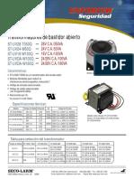 ST-UV16-W100Q-OpenFrameTransformersSpc_Transformador.pdf