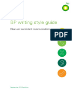 Writing Style Guide 2016