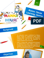 Manna House Learning Centre (final slides)