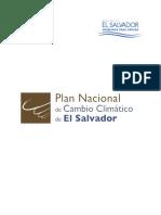 Plan Nacional de Cambio Climático