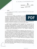 Restricciones de circulación en Entre Ríos
