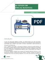 EE0430 - BANCADA MAQUINAS ELETRICAS ROTATIVAS