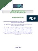 EDIC guidelines 2009 version October 09(3)